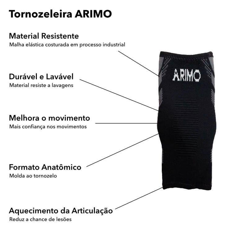Detalhes Tornozeleira Arimo