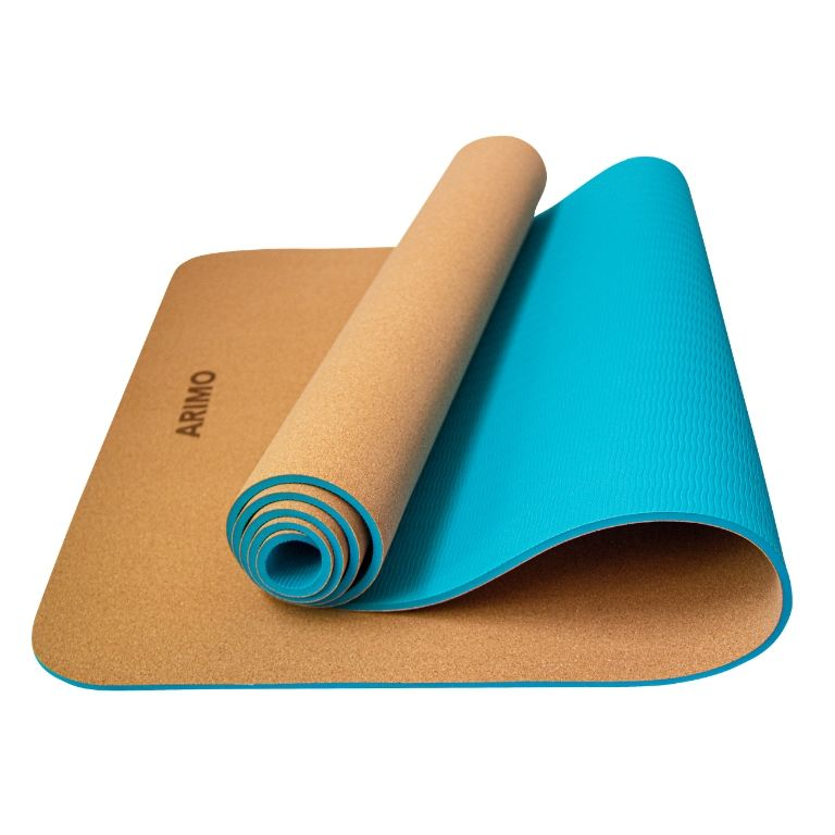 Arimo Eco Tapete de Yoga Cortiça + TPE