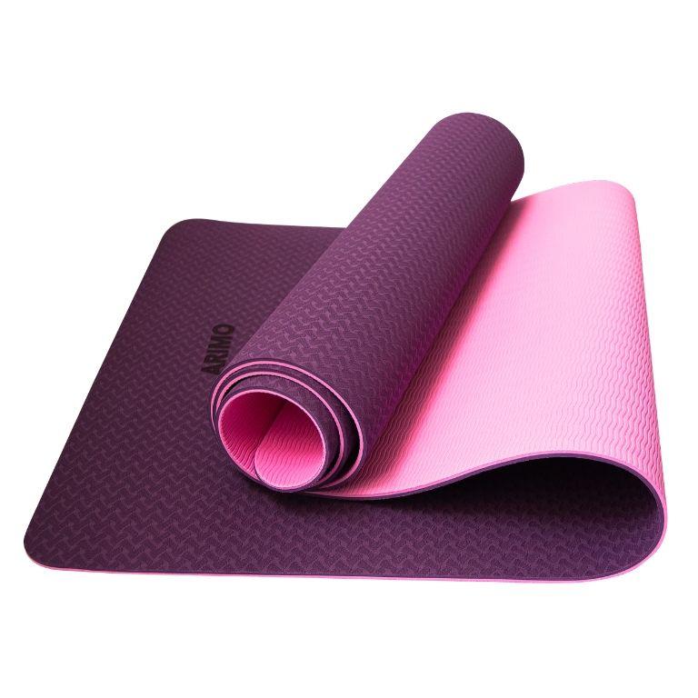 Arimo Balance Tapete de Yoga Roxo TPE
