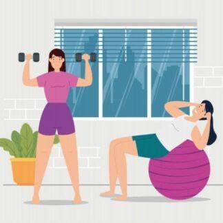Exercícios físicos para fazer durante a quarentena