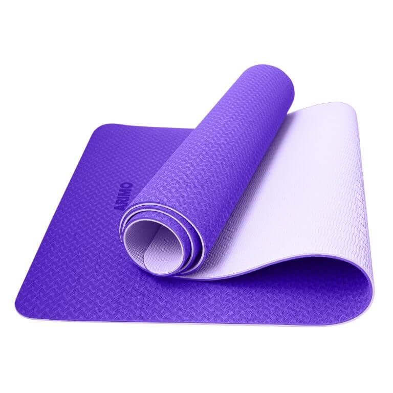 Arimo Balance Tapete de Yoga Roxo Claro TPE