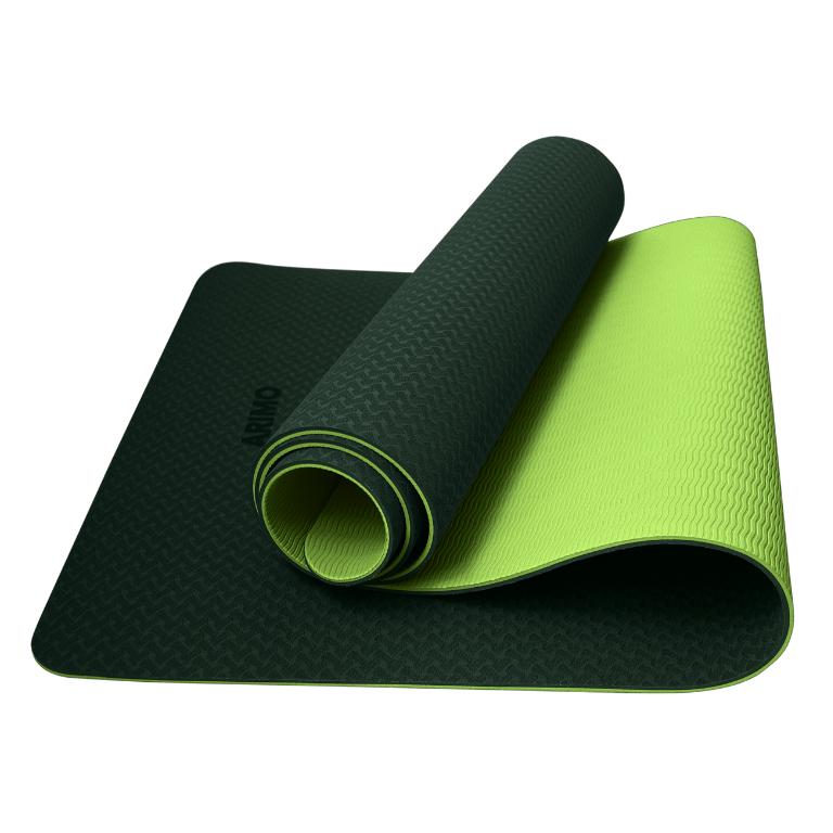 Arimo Balance Tapete de Yoga Verde Claro TPE