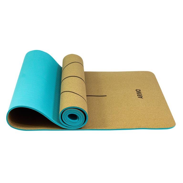 Arimo Eco Tapete de Yoga Cortiça TPE