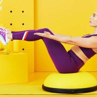 Meia bola: O que é e como incorporá-la em sua rotina de exercícios