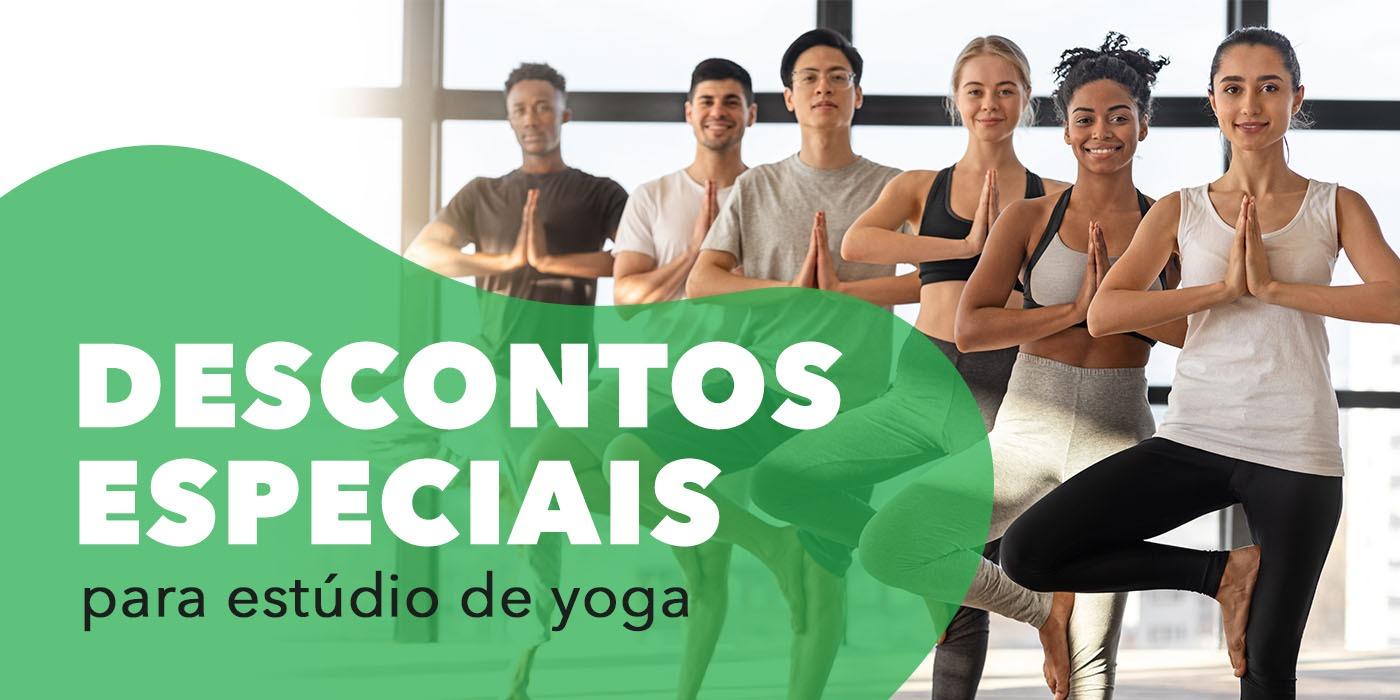 Condições Especiais para Estúdios de Yoga